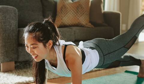 How to Stay Fit and Work Out at Home